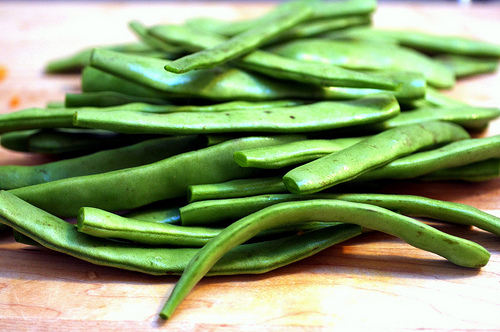 Our favorite summer salad recipe featuring romano beans for Romano italian kitchen