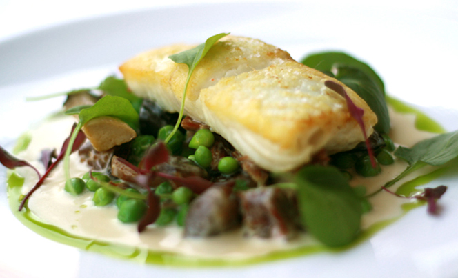 Halibut With Spring Onion And Summer Squash Saute Recipes — Dishmaps