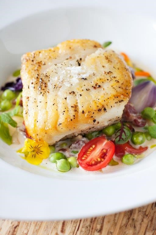 Fennel Crusted Halibut