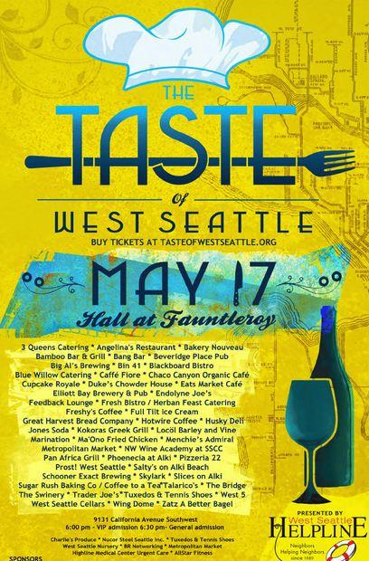 Taste of West Seattle